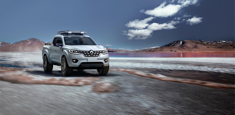 Renault svela ALASKAN Concept