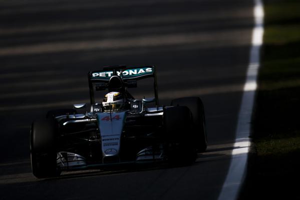 Monza FP1: Hamilton-Rosberg, Vettel 3°