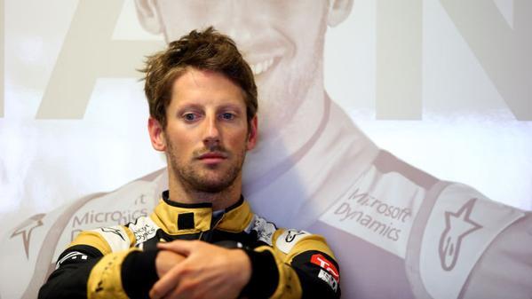Grosjean sa con chi correrà nel 2016