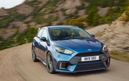 Ford celebra la produzione della prima Focus RS