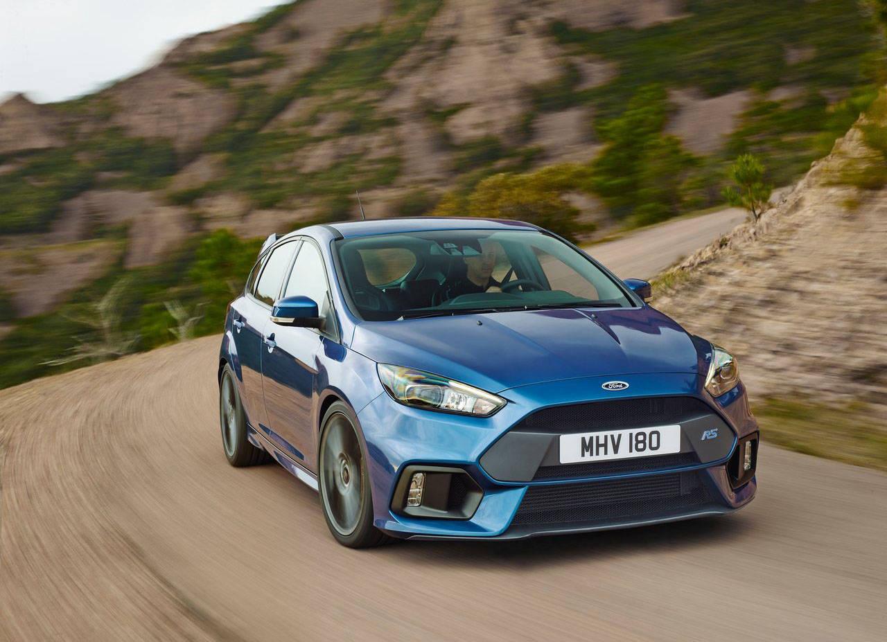 Ford Focus RS: le prestazioni