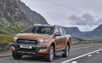 Nuovo Ford Ranger: debutto europeo