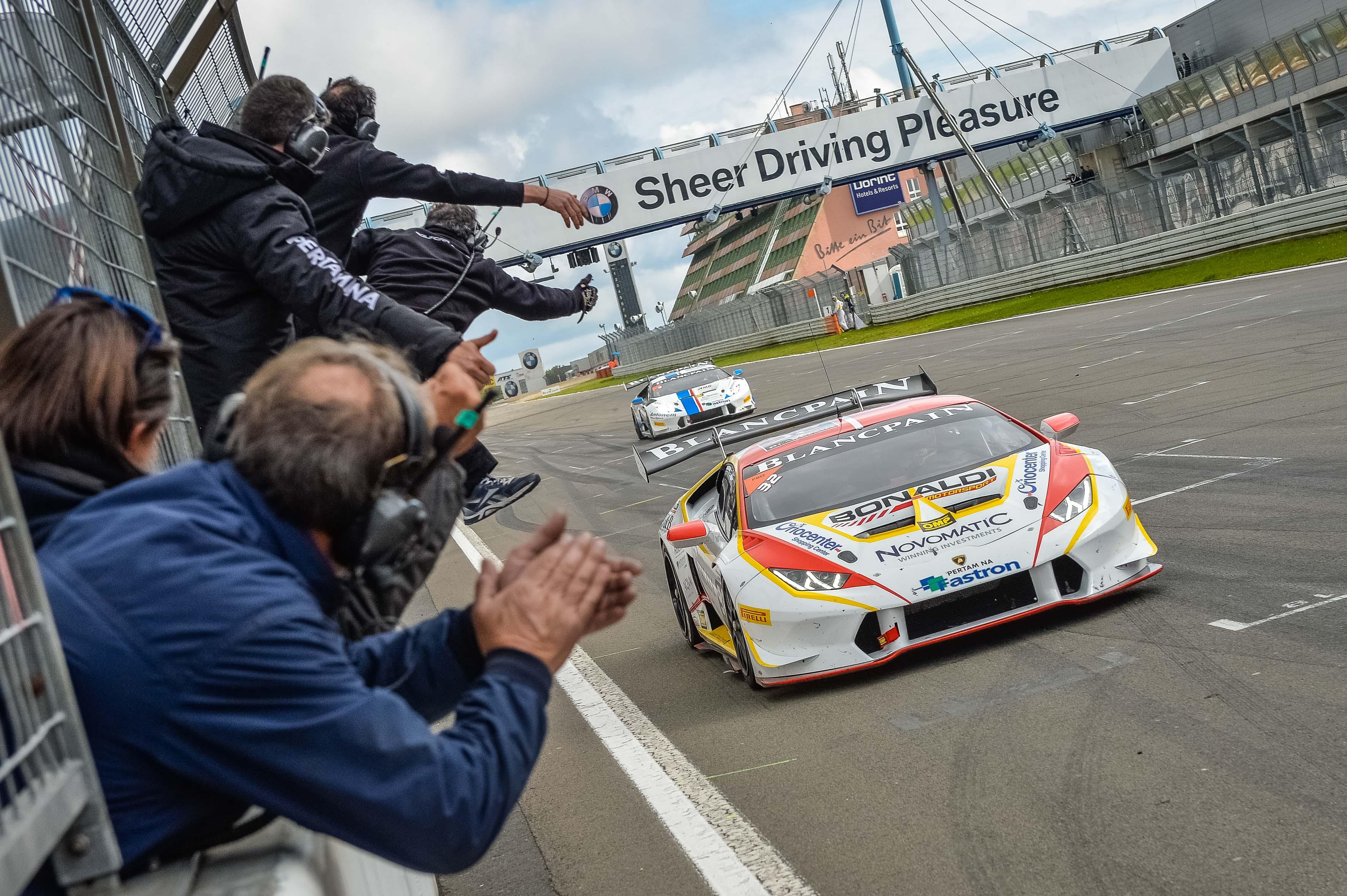 Lamborghini: vittoria e Titolo per Kujala