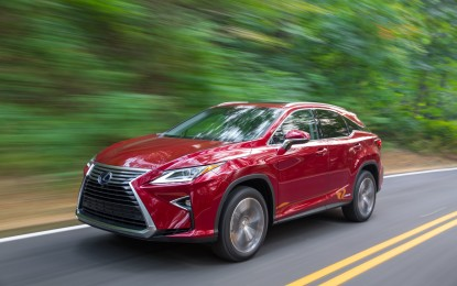Lexus RX: inizia la produzione