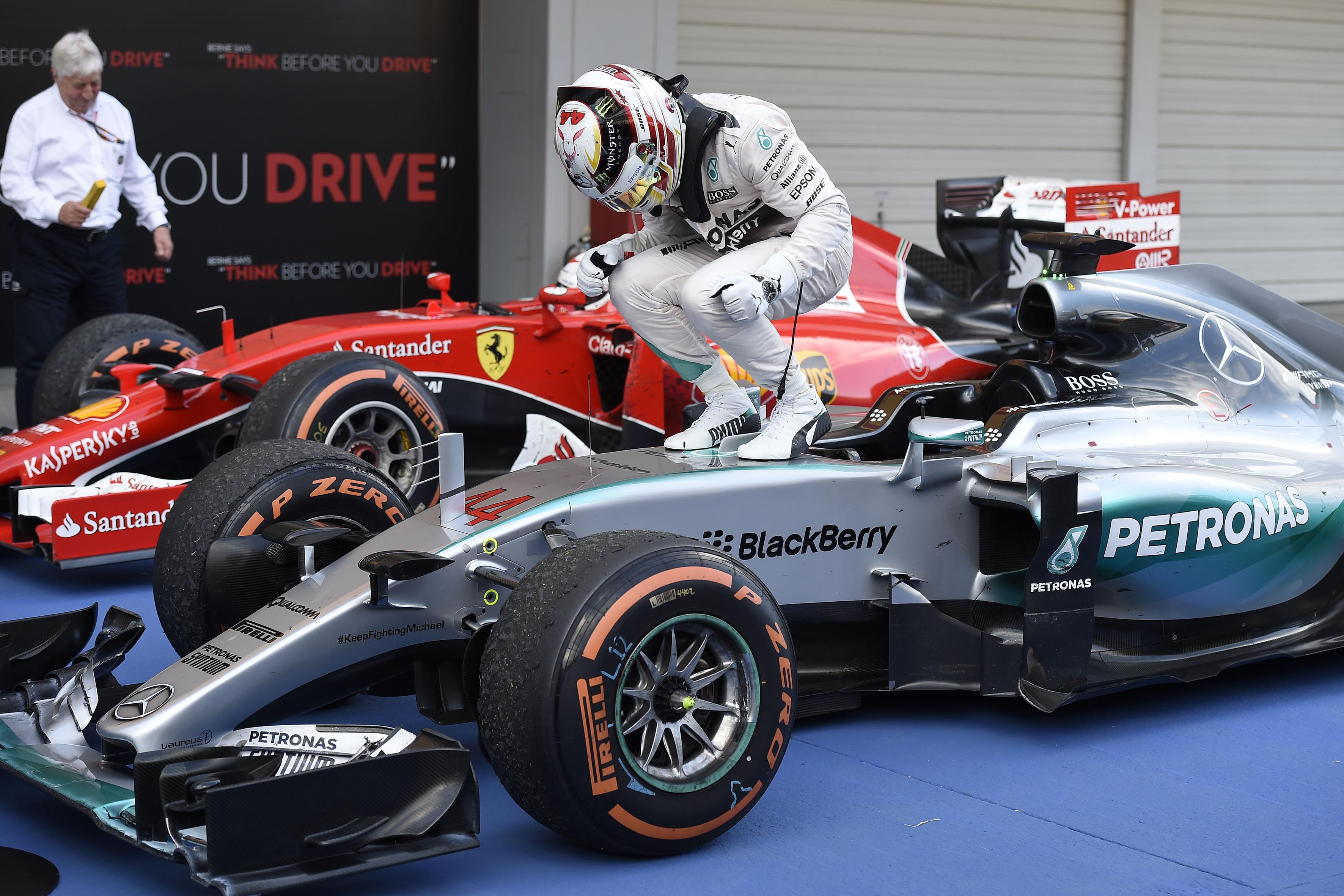Giappone: Hamilton domina su Rosberg e Vettel