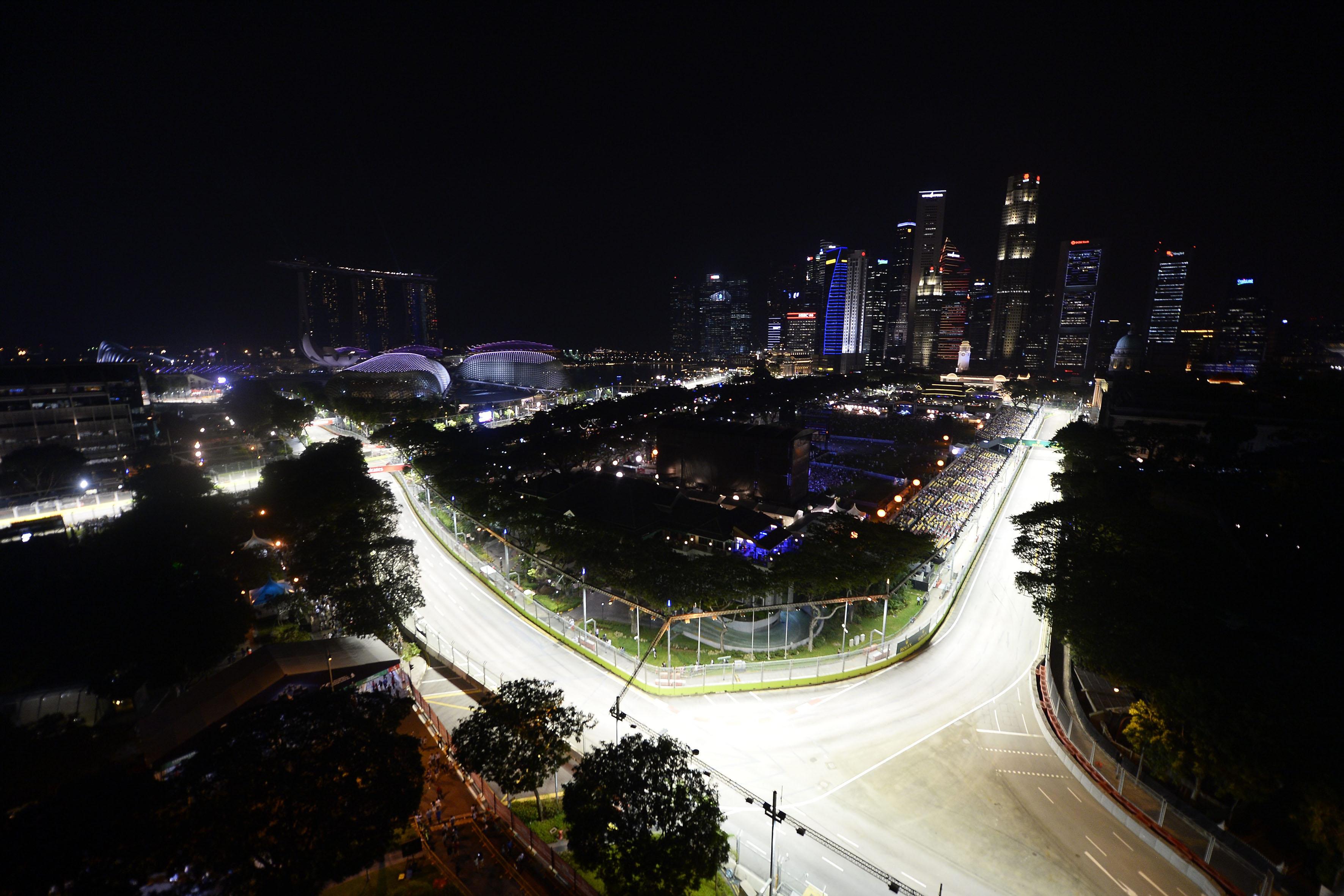Singapore: la griglia di partenza