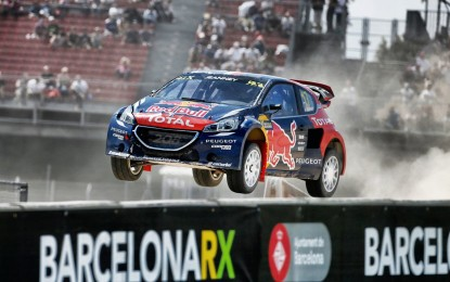208 WRX sul podio a Barcellona