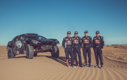 Loeb nel «Dream Team» Peugeot Total