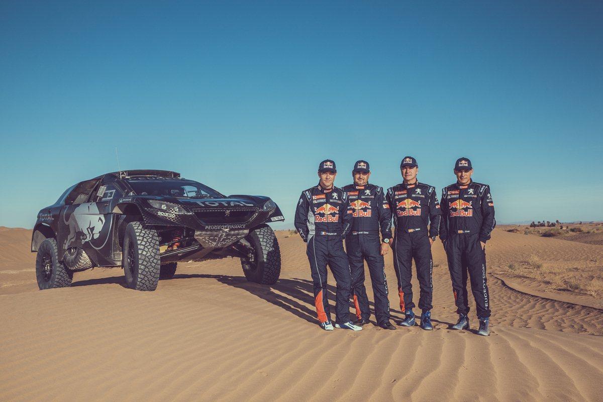 Loeb nel «Dream Team» Peugeot Total
