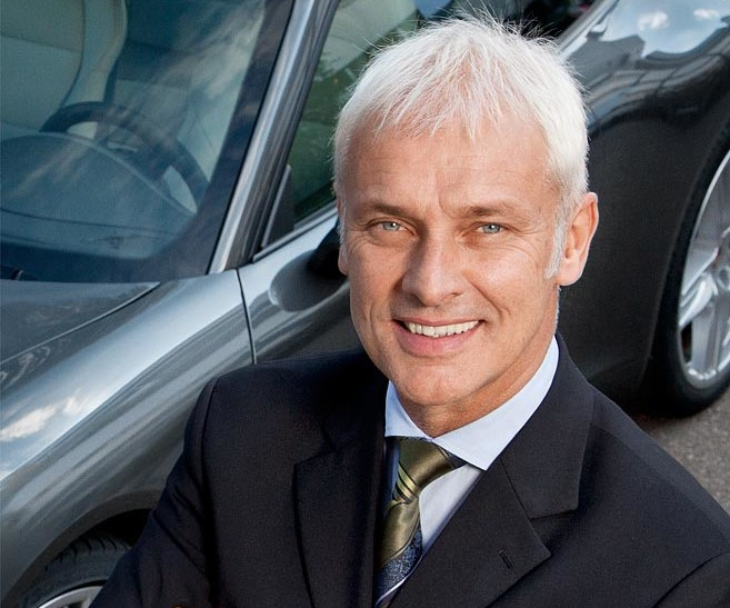 Matthias Müller CEO del Gruppo Volkswagen