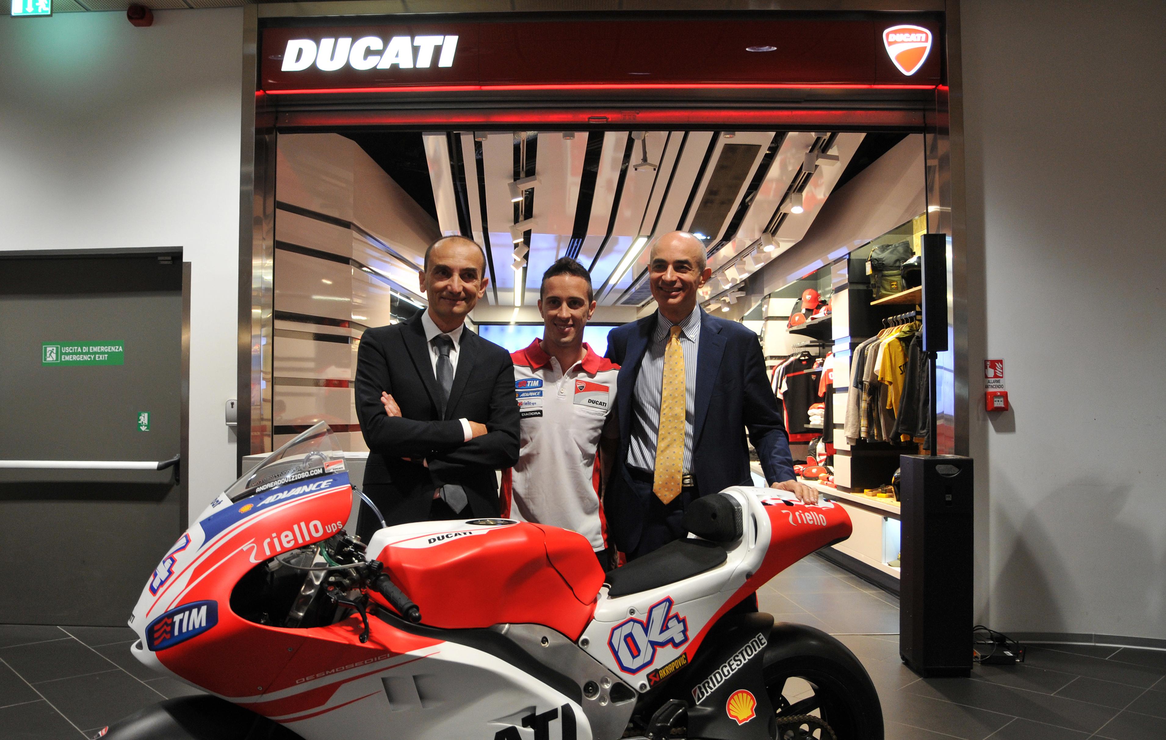 Ducati vola con l'Aeroporto di Bologna