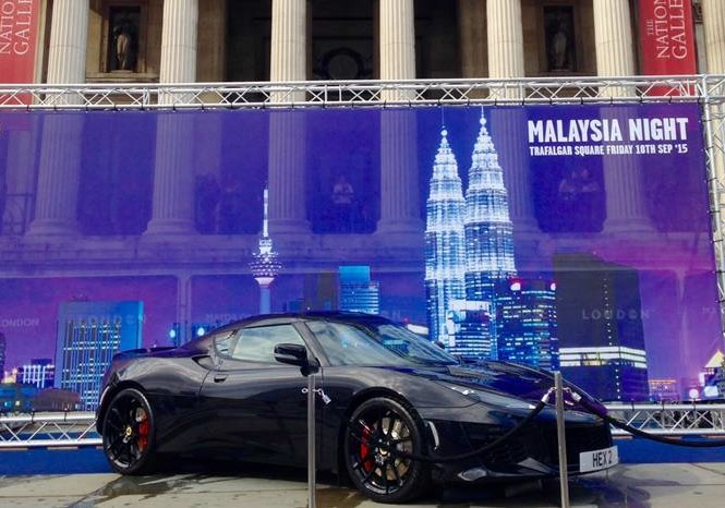 New Lotus Evora 400 in London