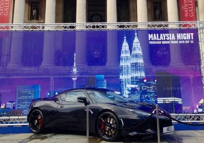 New Lotus Evora 400 in London
