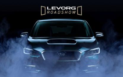 Levorg in pista con il roadshow Subaru