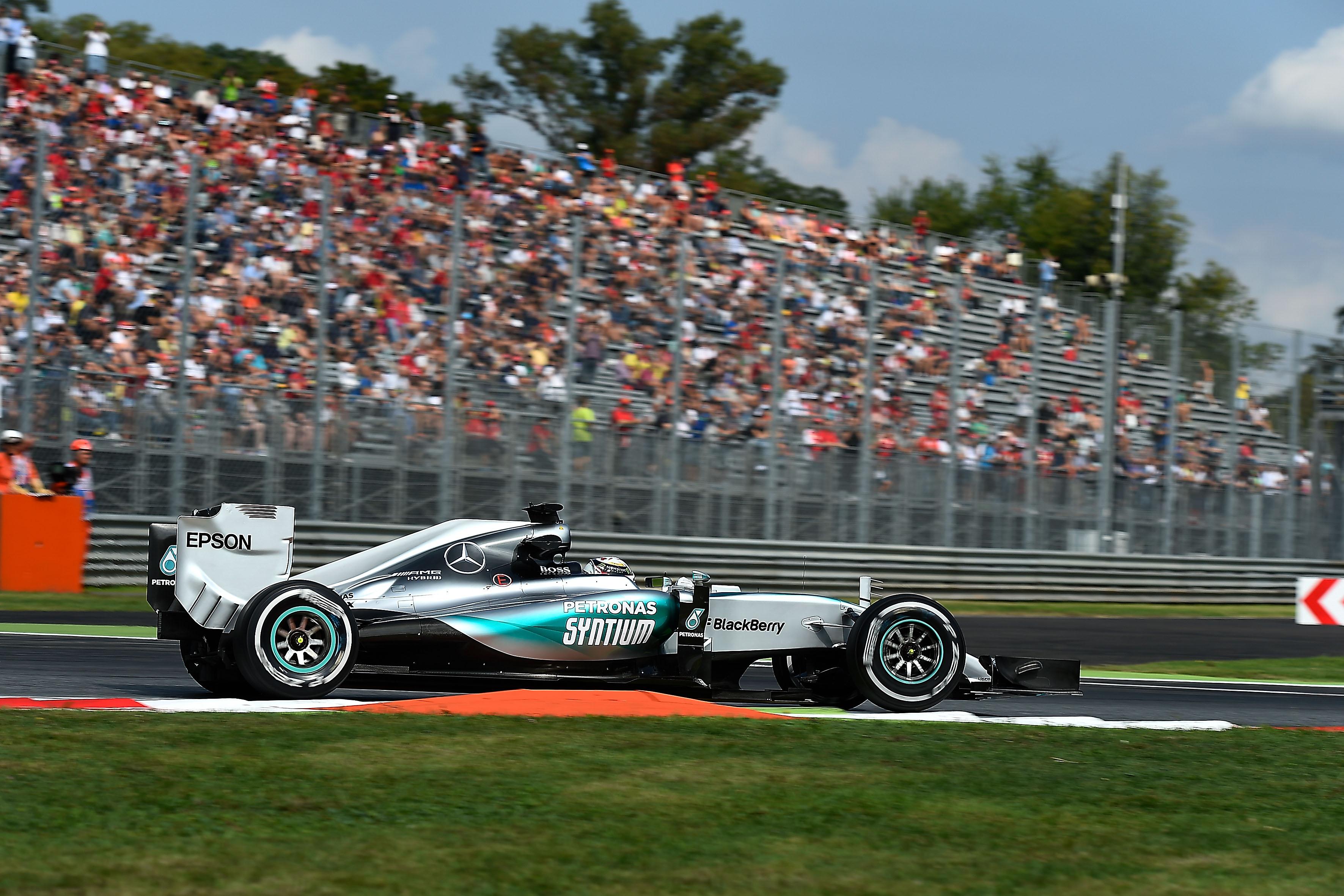 Modifica di camber e pressione per Monza