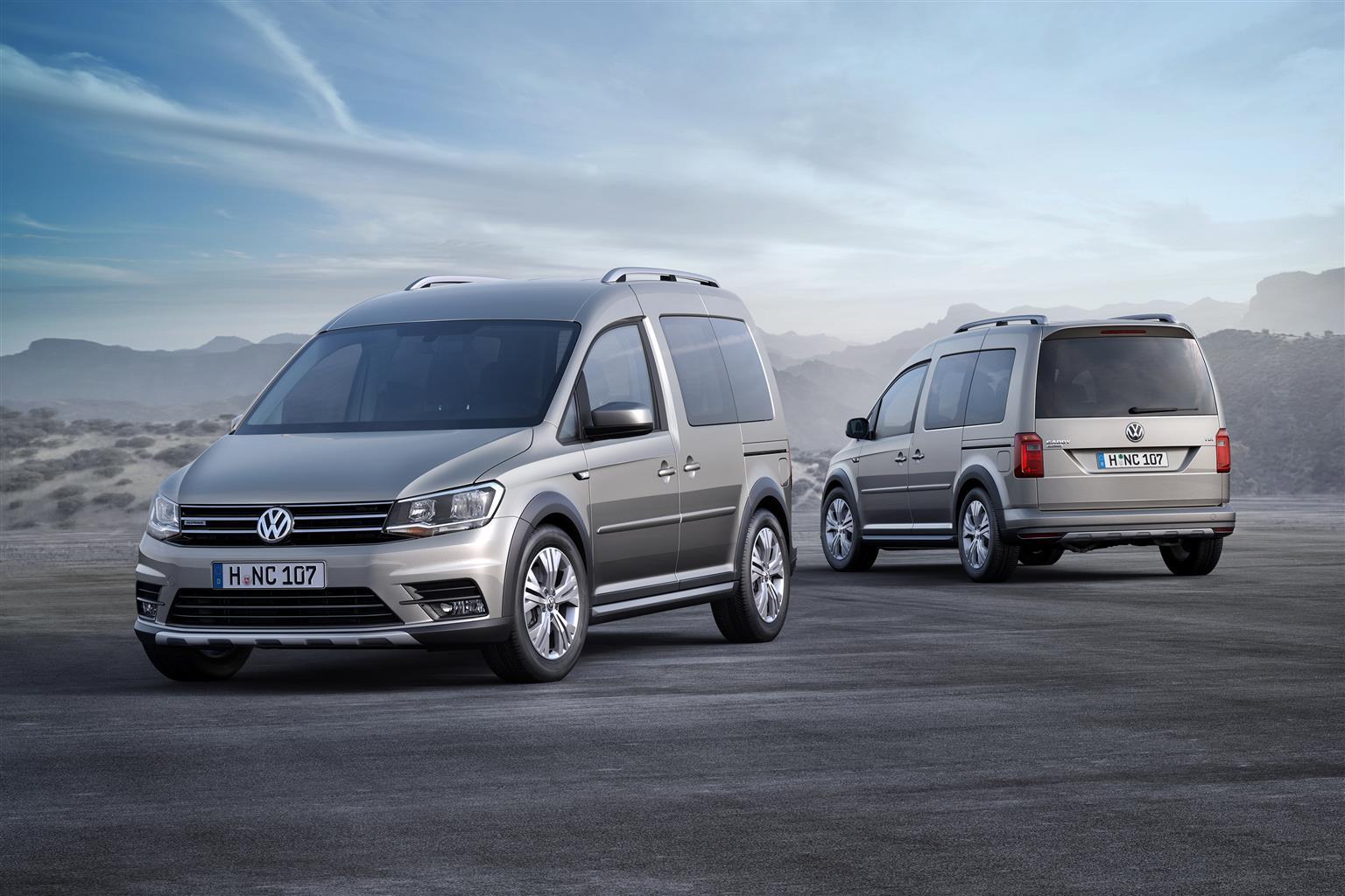 VW Caddy Alltrack al Salone di Francoforte