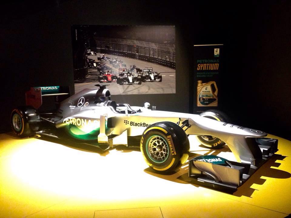 La F1 W06 Hybrid di Hamilton al MAUTO