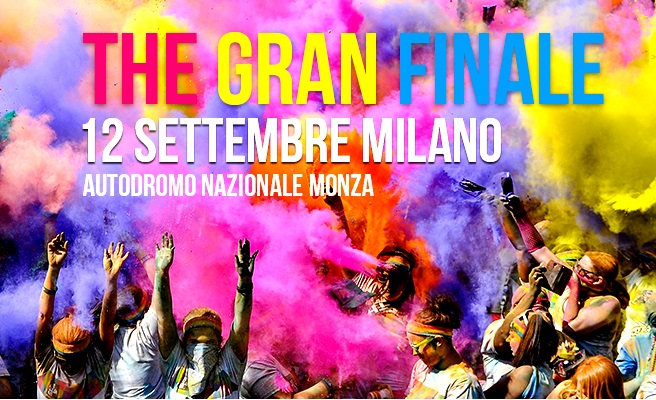 The Color Run domani a Monza
