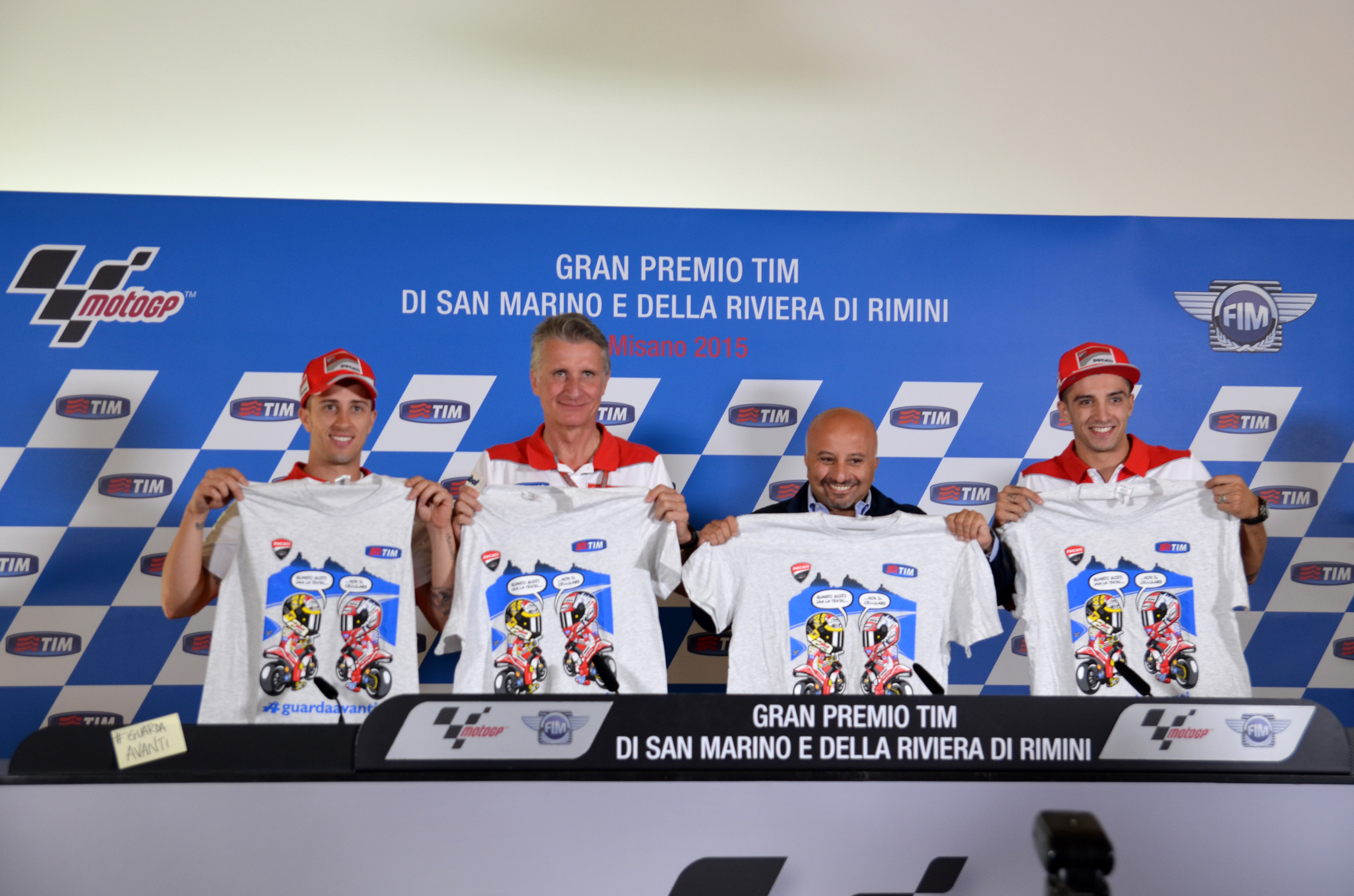 #guardaavanti: TIM e Ducati per la sicurezza