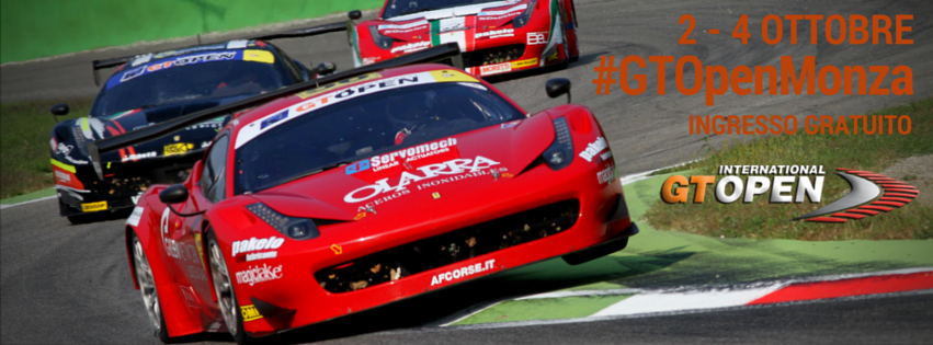 A Monza l'International GT Open