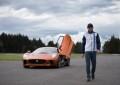 Massa guida la Jaguar C-X75 di James Bond