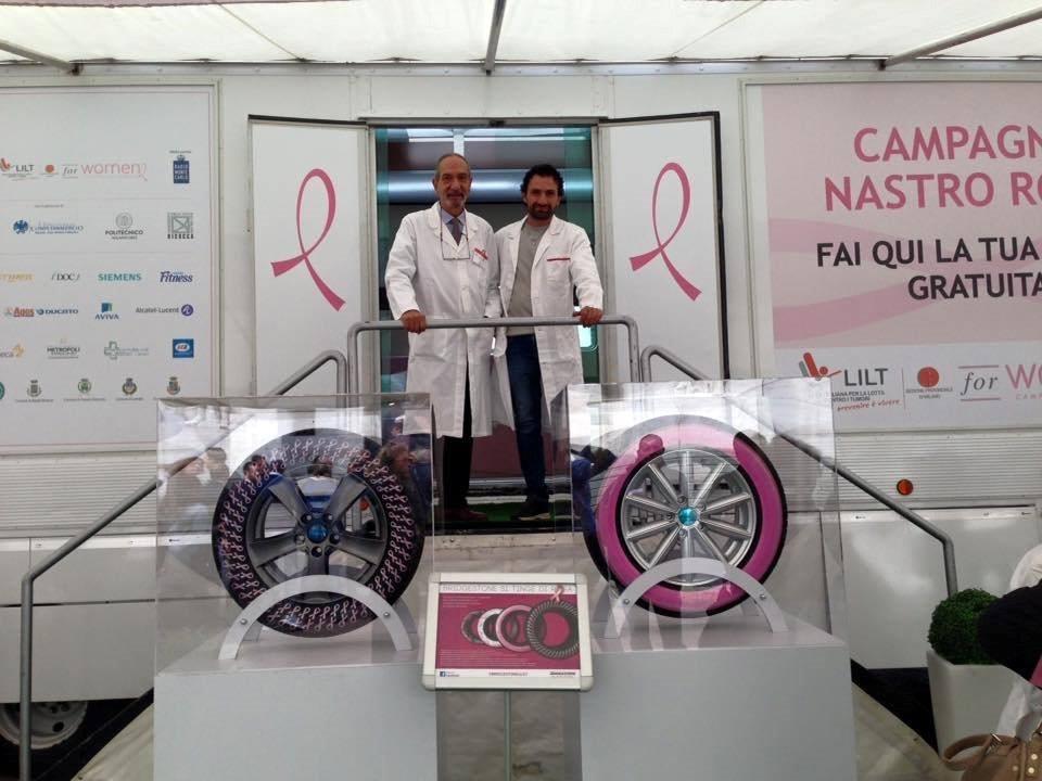LILT: parte la Campagna Nastro Rosa 2015