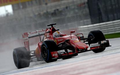 Russia: il punto Ferrari sulle libere