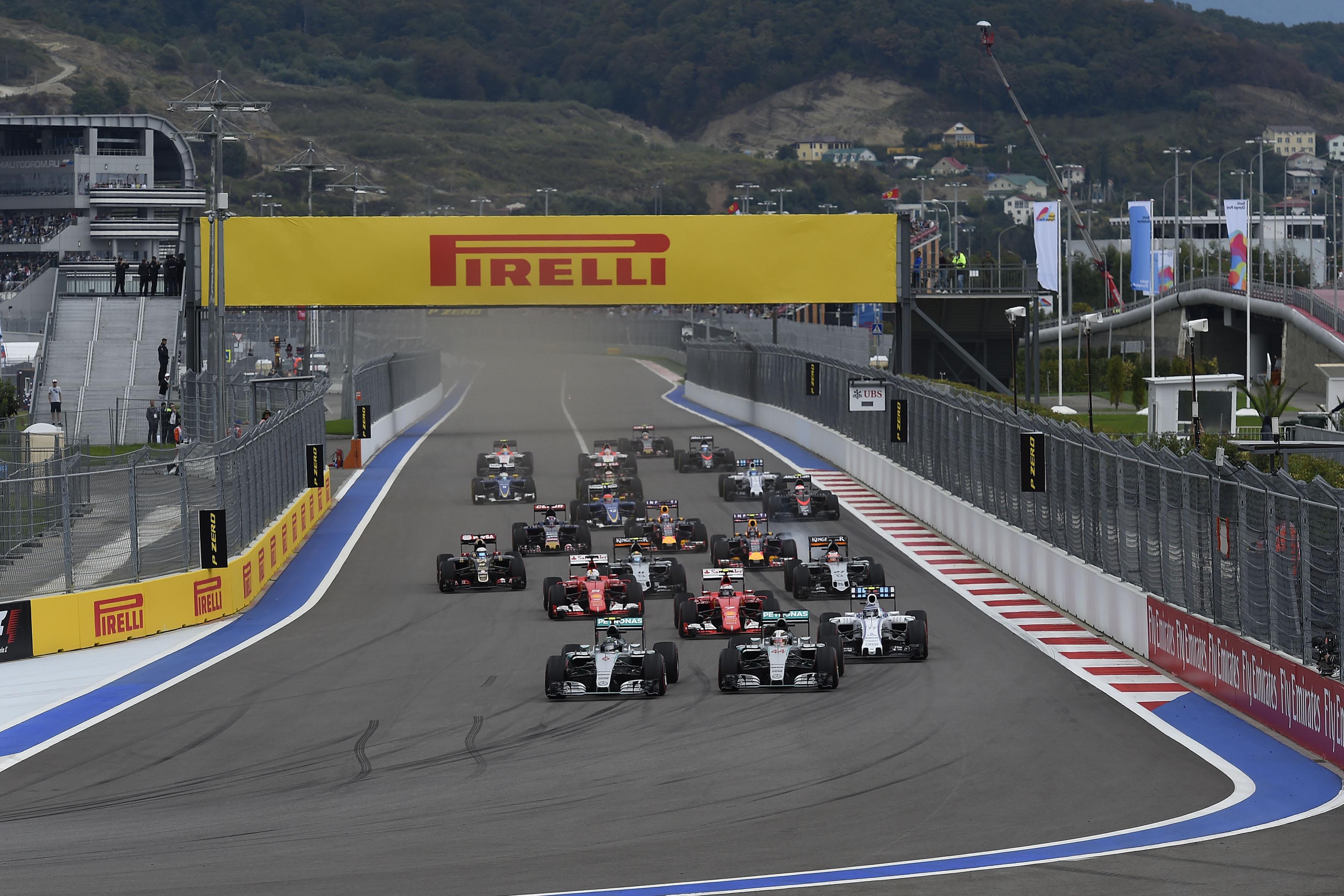 GP Russia 2016: Pirelli annuncia le mescole