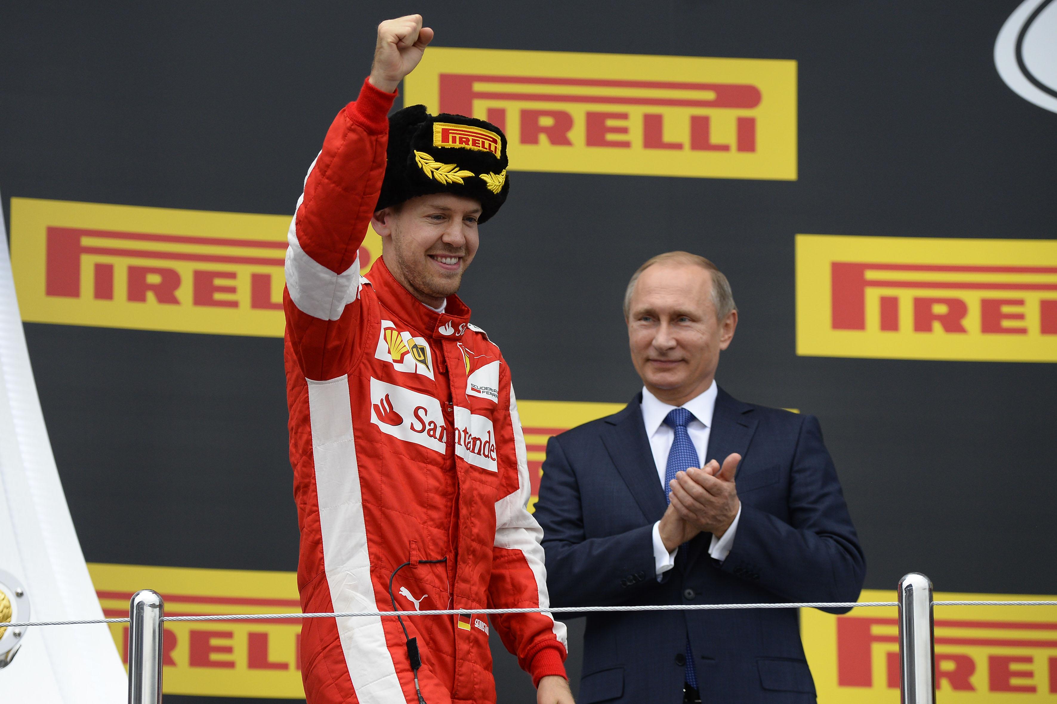 Russia: Vettel 2°, anche nel Mondiale Piloti