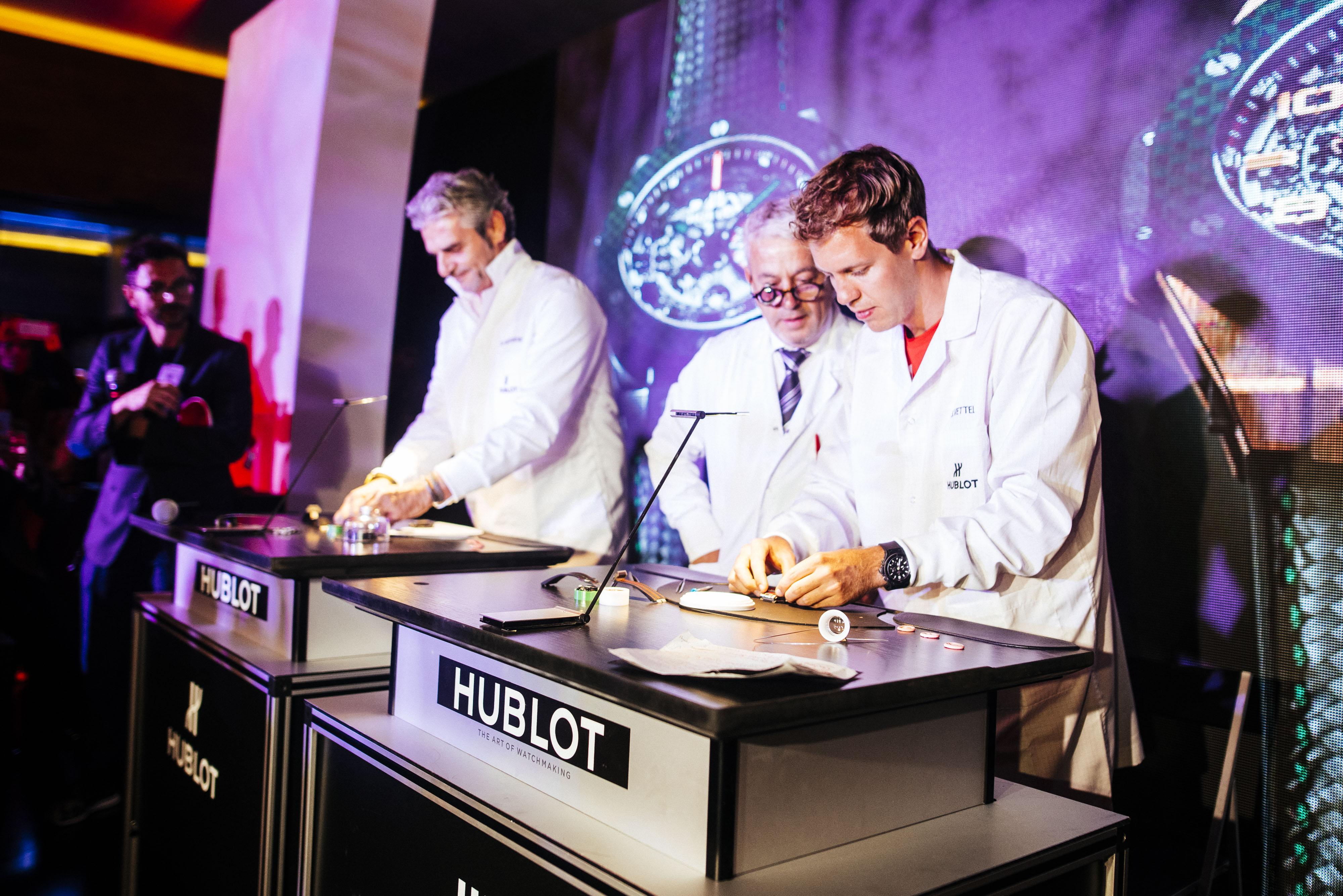 Hublot: Seb e Maurizio orologiai per una notte