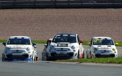 Abarth in pista in Italia e Germania