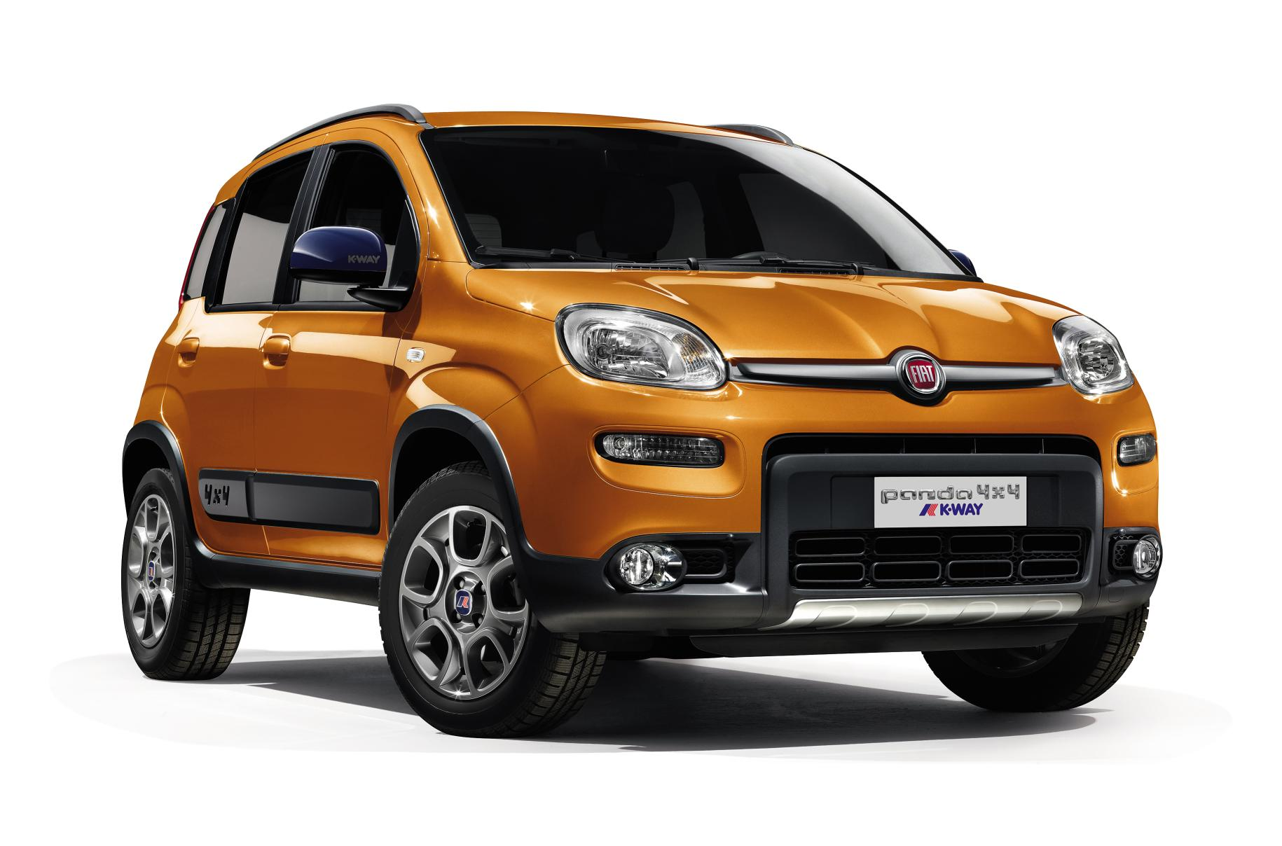 Fiat Panda 4×4 K-Way®: esordio italiano