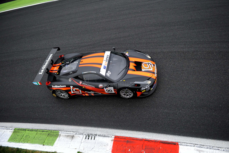 Due vittorie e sei podi per la Ferrari a Monza