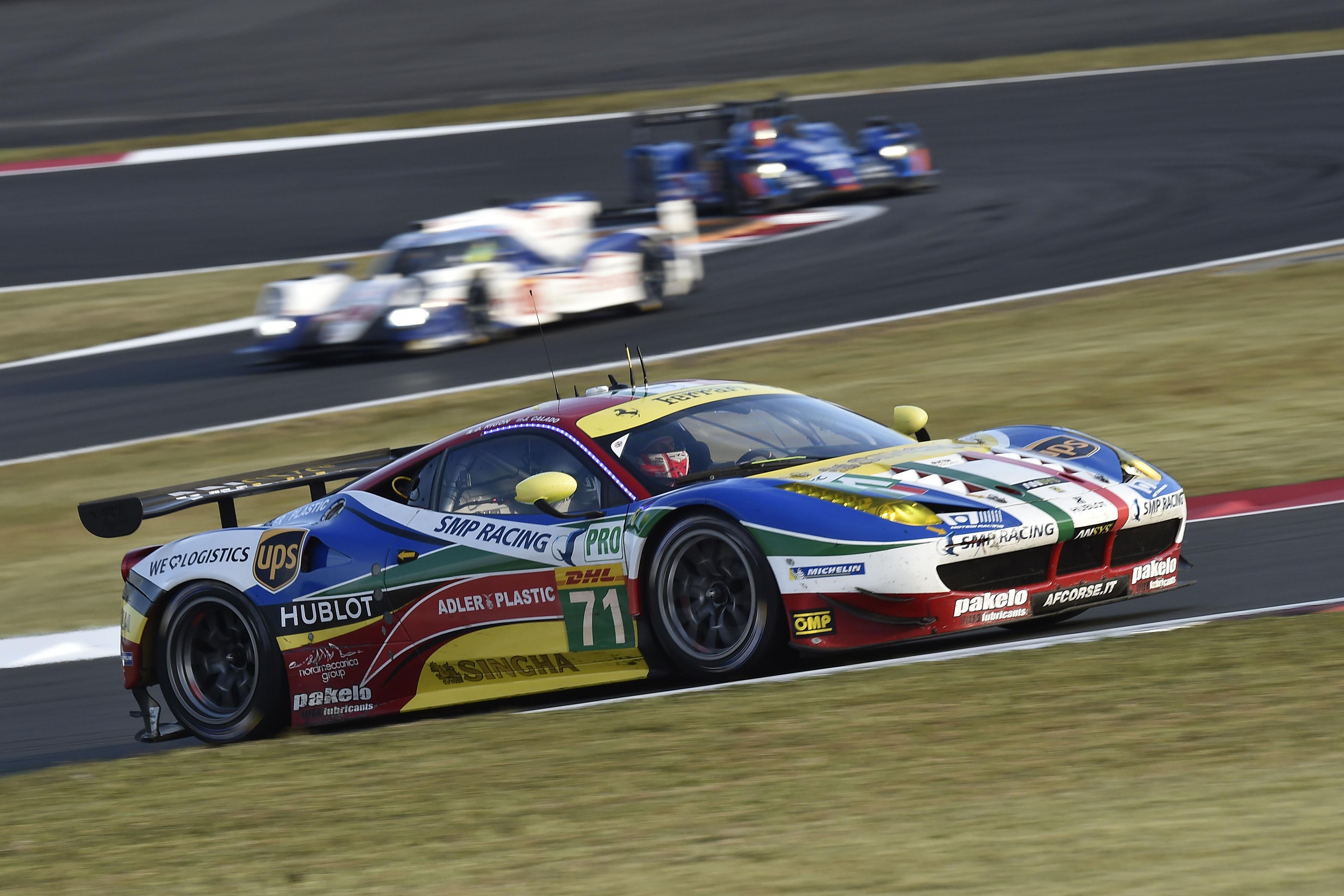WEC: prima fila tutta Ferrari al Fuji