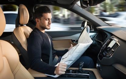 Volvo Cars: nuova interfaccia per la guida autonoma