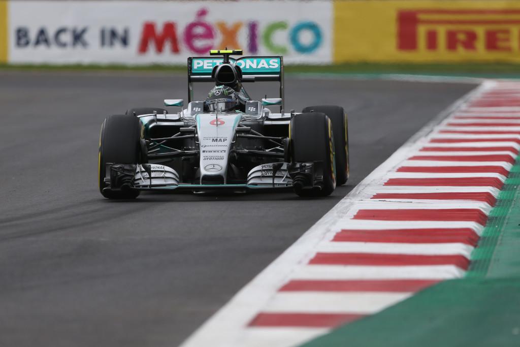Messico: Rosberg davanti a tutti nelle FP2