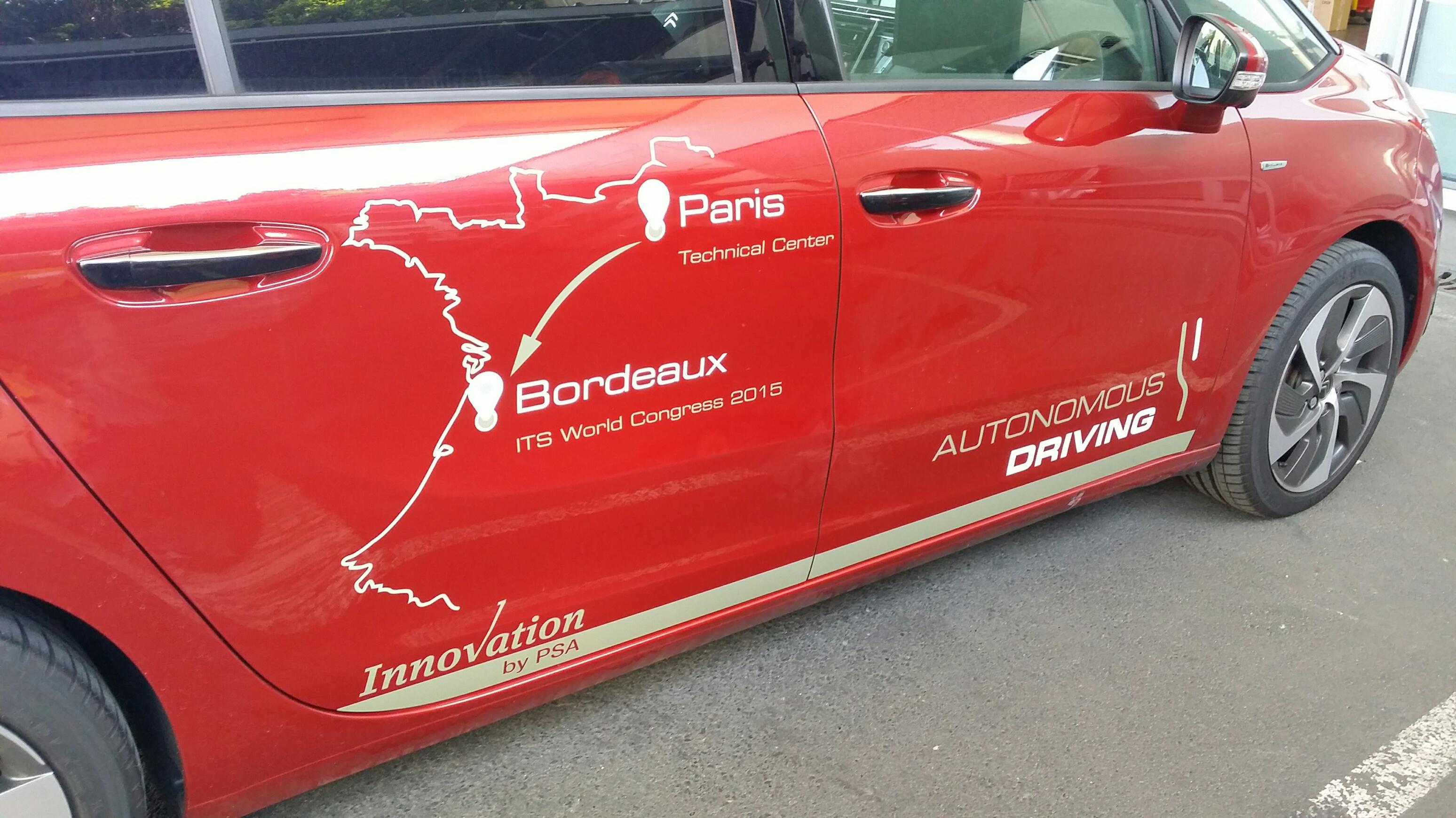 PSA: 580 km in modo autonomo