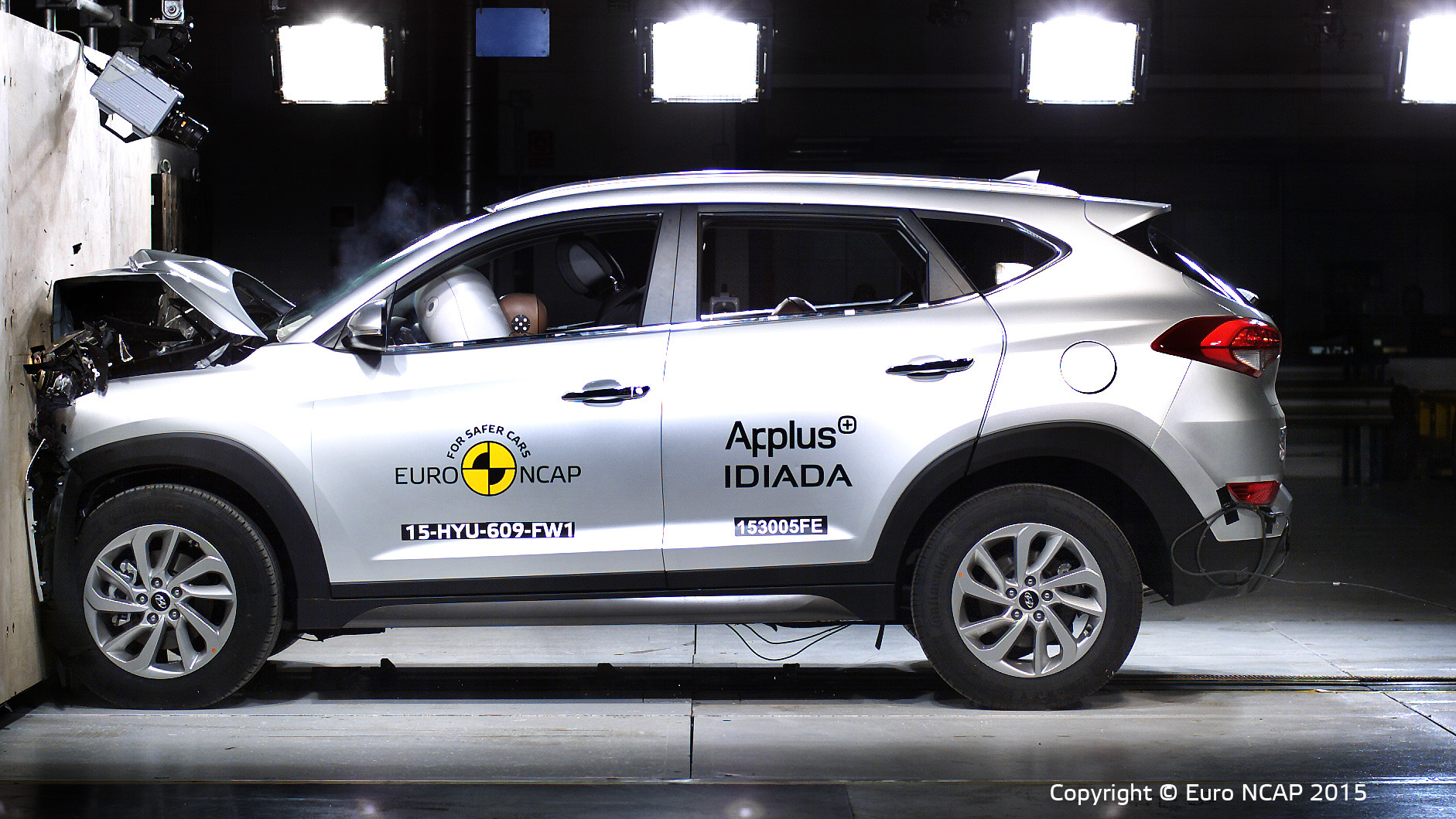 EuroNCAP: 5 stelle per Hyundai Tucson