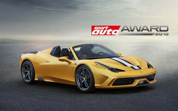 Ferrari: doppio premio da Sport Auto