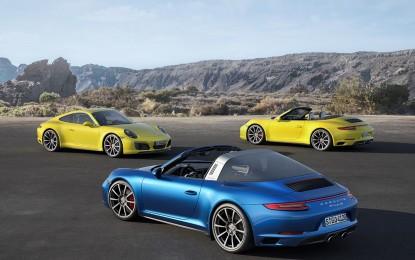 911 Carrera 4 e 911 Targa 4: le novità