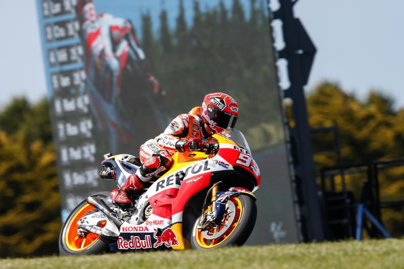 Australia: ottava pole 2015 di Marquez