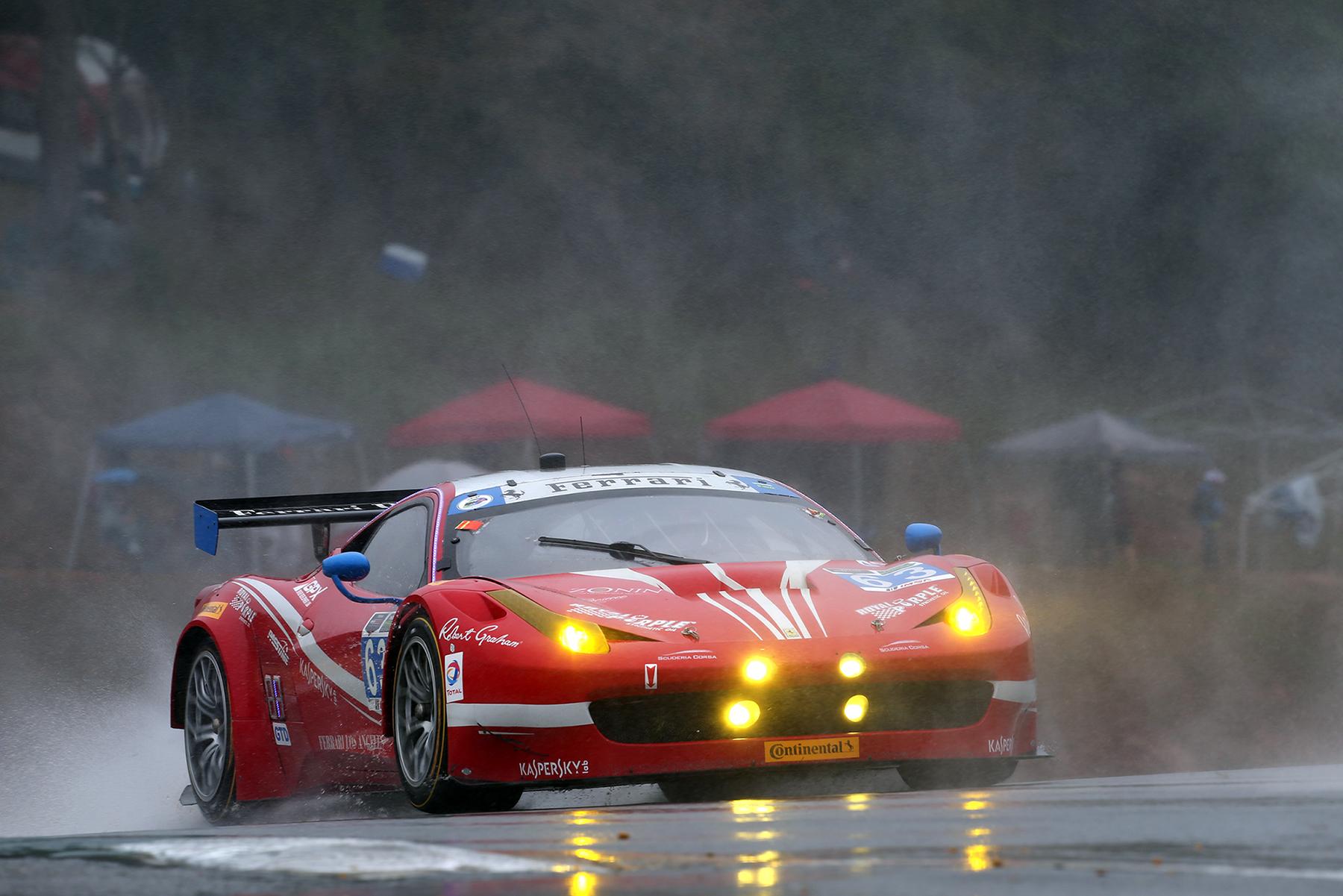 La Ferrari vince i Titoli GT-D