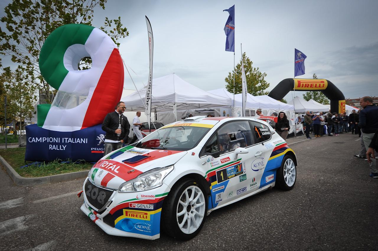 Peugeot Campione Italiano Rally 2015