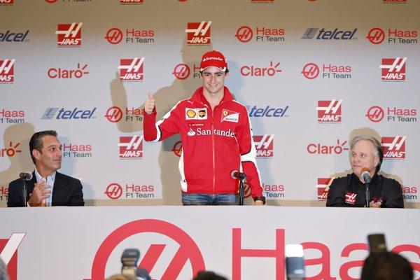 Esteban Gutierrez pilota Haas F1 Team 2016