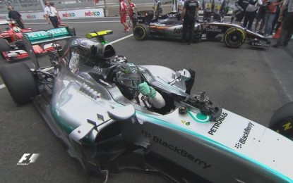 Messico: pole di rabbia di Rosberg