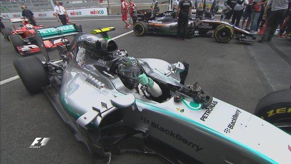 Messico: pole di rabbia di Rosberg