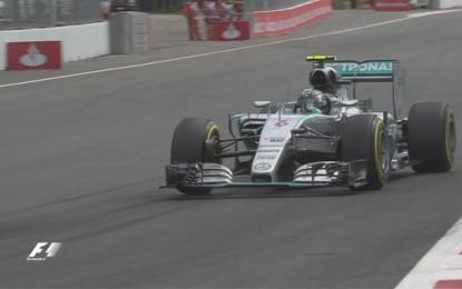 Messico: Rosberg-Hamilton nelle FP3