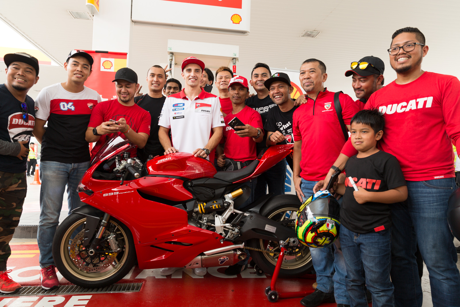 Shell e Ducati: evento in Malesia
