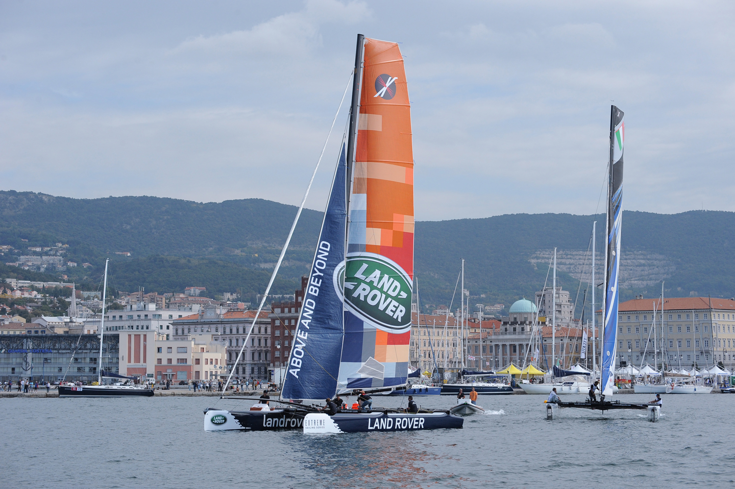 Land Rover Italia Official Partner Barcolana 2015