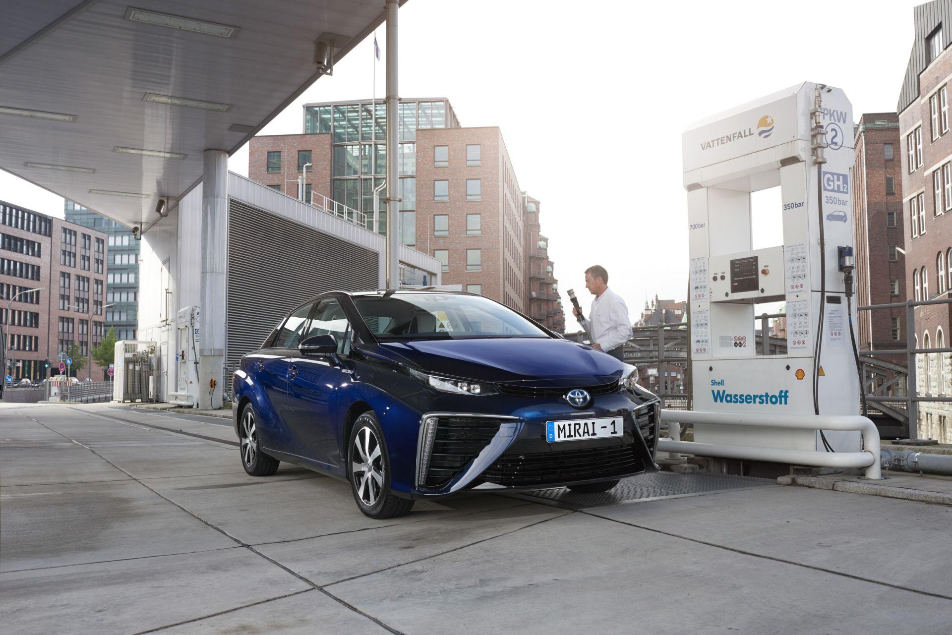 Toyota Mirai da oggi in Europa